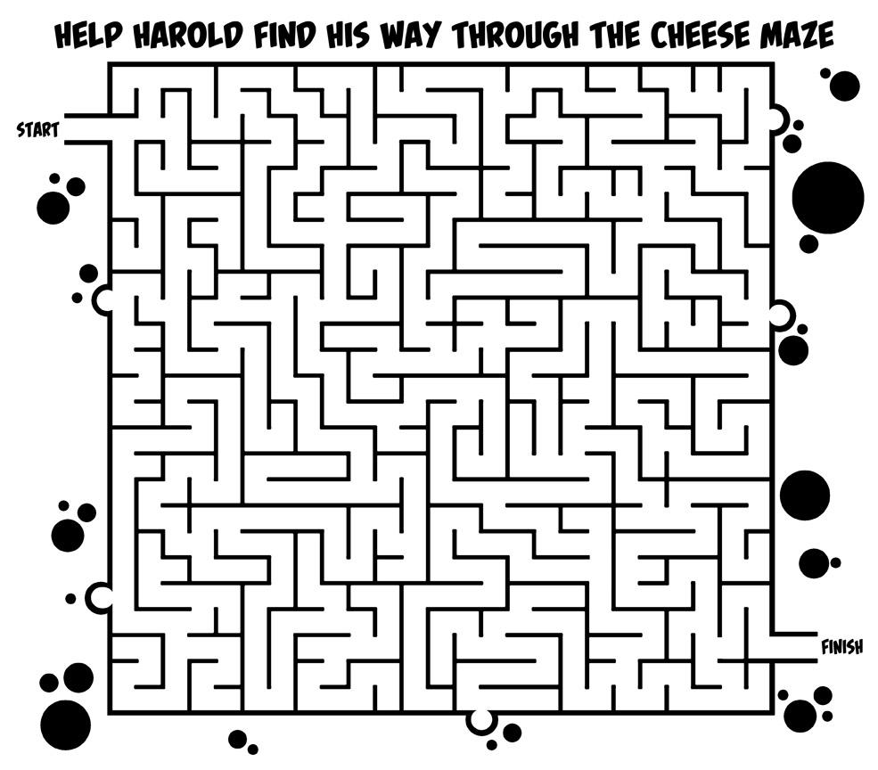 Cheese Maze