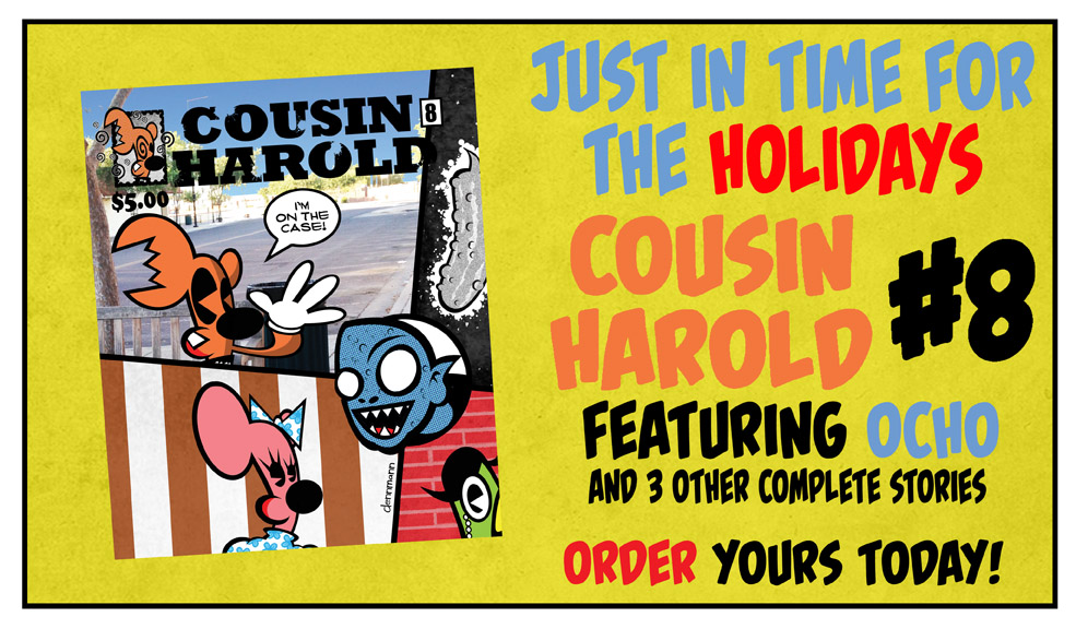 Cousin Harold 8 is now on SALE!