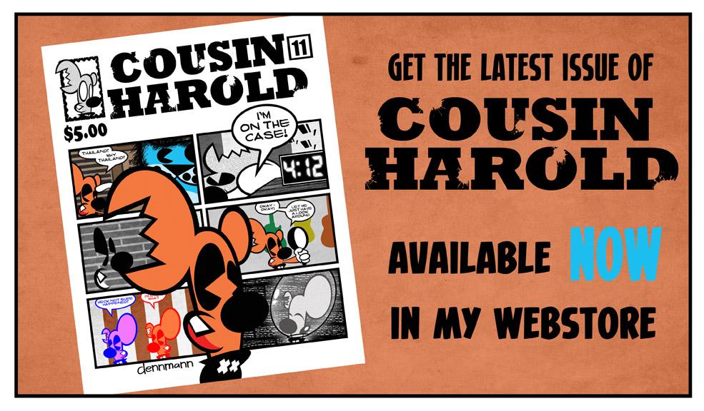 Cousin Harold 11 ad
