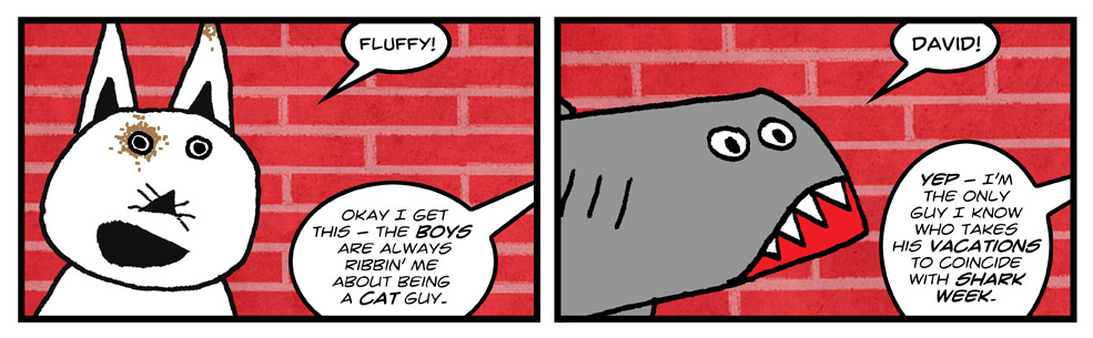Fluffy and David