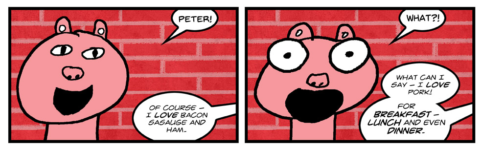 Peter – What?!