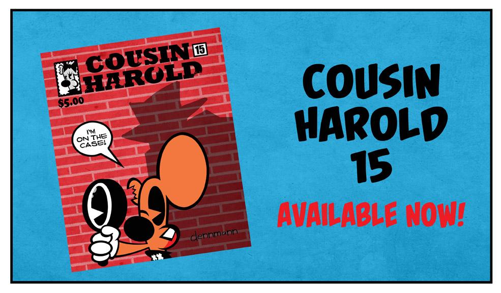 Cousin Harold 15 AD